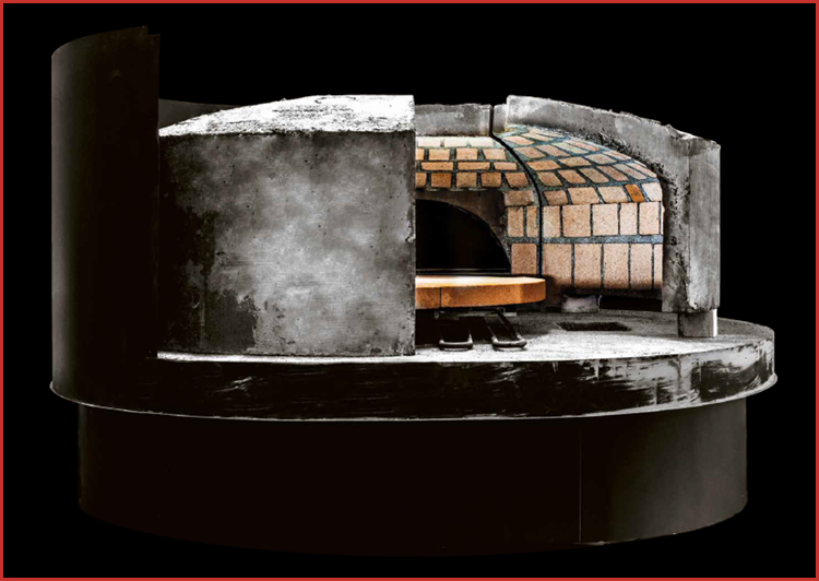 Rotating Wood Fired Oven